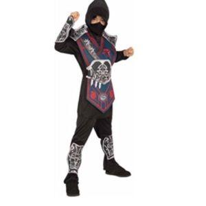 Other - New blue battle ninja warrior costume kids 4/6